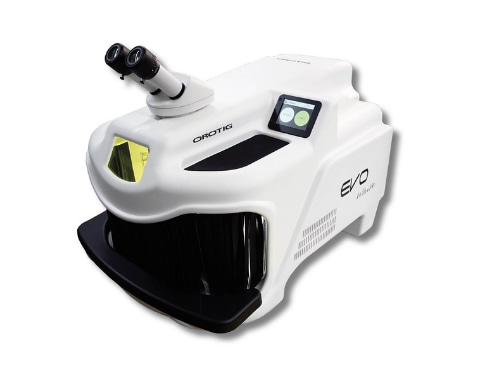 Orotig Evo White laser welding machine